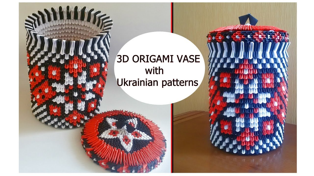3d origami paper vase fancy box box for chocolate with 3d origami paper vase fancy box box for chocolate with ukrainian patterns reviewsmspy