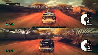DiRT 3 - Split Screen PC Gameplay