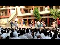 Dance of model study school girls