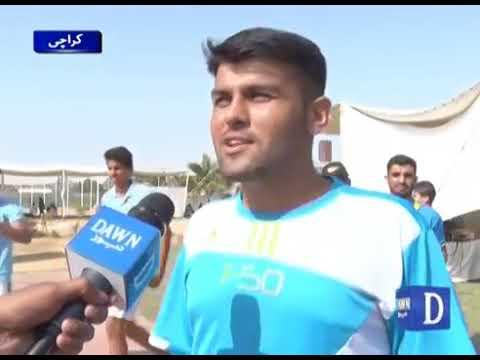Karachi Athletics League kay sansani khez muqablay jari