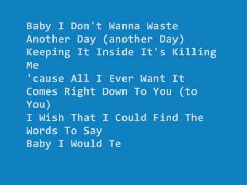 inconsolable   Backstreet Boys lyrics