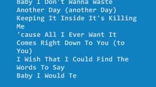 inconsolable -  Backstreet Boys lyrics