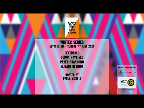 Auckland Writers Festival Winter Series - Episode 6