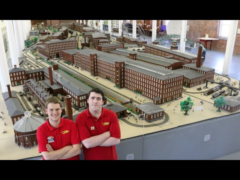 World's largest LEGO minifig-scale display – SEE Science Cen