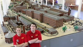 World's largest LEGO minifig-scale display – SEE Science Center