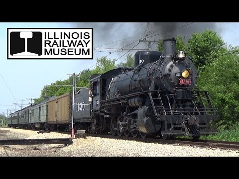 Illinois Railway Museum - Frisco 1630