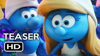 Smurfs: The Lost Village Official Teaser Trailer #1 (2017) Animated Movie HD