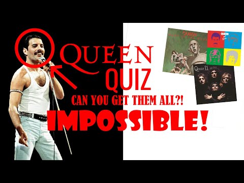 Queen Music Quiz || How Well Do You Know Queen's Music?