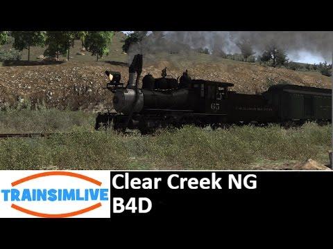 Let's Play Train Simulator - Clear Creek, B4D