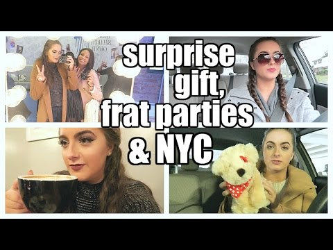 Surprise gifts, frat parties, & NYC