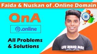 Faida & Nuksan of (.Online) Domain | Q n A