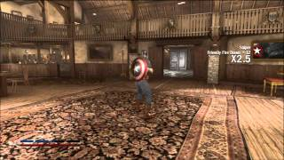 Captain America Walkthrough: Chapter 3 (part 1/4) - The Wooden Horse [HD][XBOX 360][Gameplay]