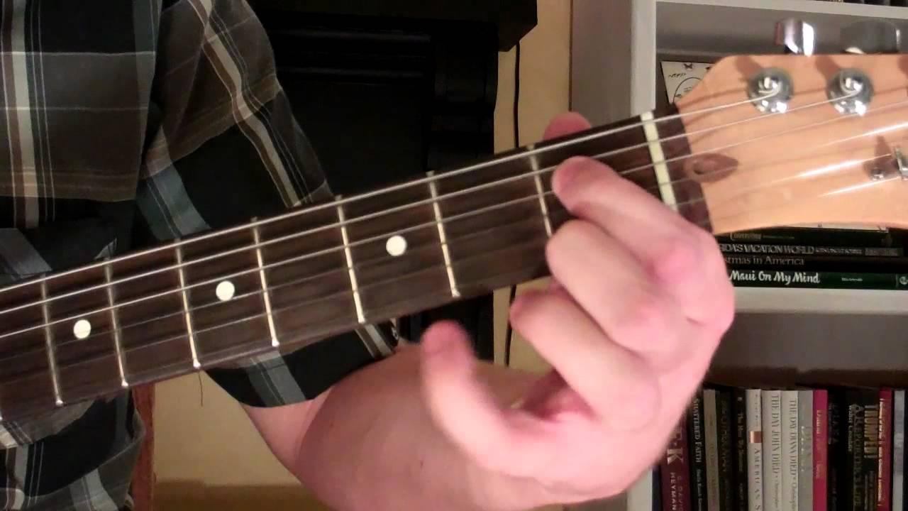 How To Play The Ebmaj9 Chord On Guitar E Flat Major Ninth 9th
