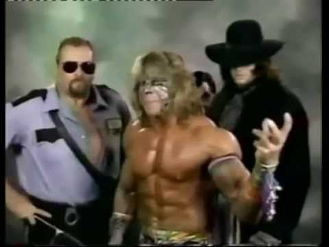 Ultimate Warrior, Big Bossman and Undertaker Promo (08-30 ...