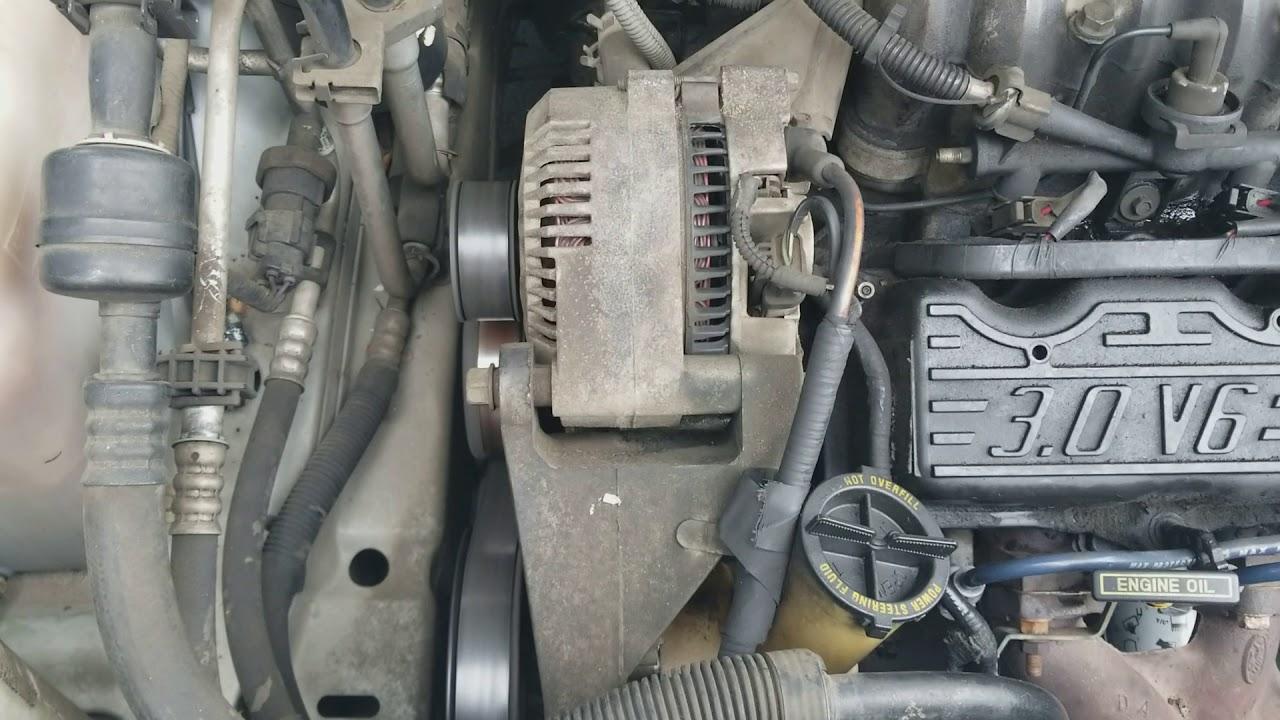 hight resolution of 1998 ford windstar 3 0l buzzing alternator help any ideas