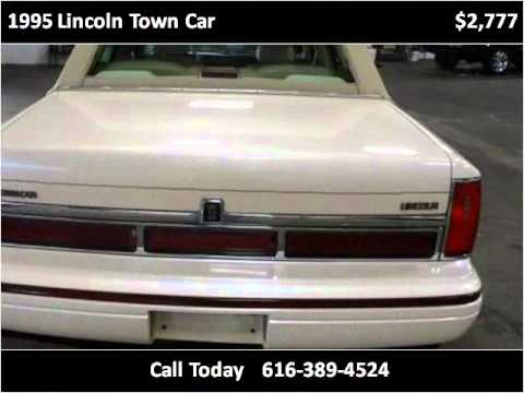1995 lincoln town car used cars grand rapids mi youtube. Black Bedroom Furniture Sets. Home Design Ideas
