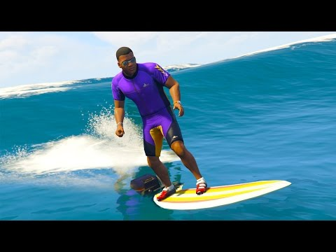 GTA 5 Mods - SURFBOARDING!! 17 AWESOME MODDED VEHICLES!!! (GTA 5 Mods Gameplay)
