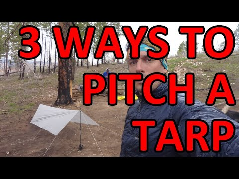 How To Pitch a Tarp - On The Trail - Episode #9