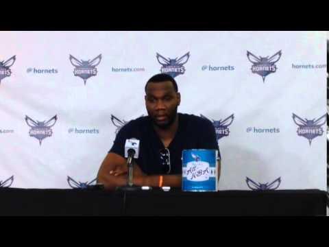 Al Jefferson talks about upcoming season
