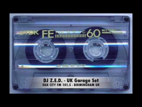 DJ Z.E.D.  - Silk City FM 101.5 - BIRMINGHAM UK - UK Garage Set