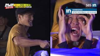 [Old Video]Fearless Si Yang hits Jong Kook in the forehead in Runningman Ep. 414 (EngSub)