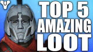 Destiny: Amazing Top 5 Luckiest Loot Drops Of The Week / Episode 59