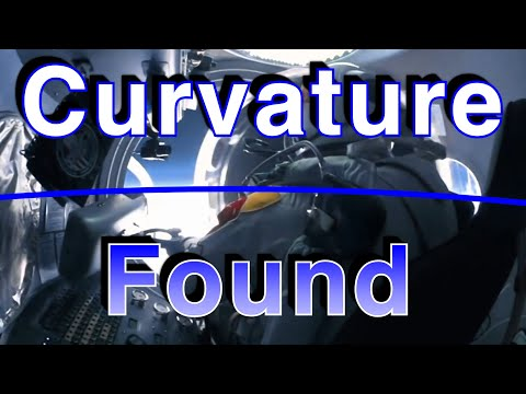 FELIX FOUND THE CURVE Red bull space jump SORRY FLAT EARTHERS thumbnail