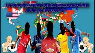 5 jogadores BONS que nasceram em países RUINS no futebol