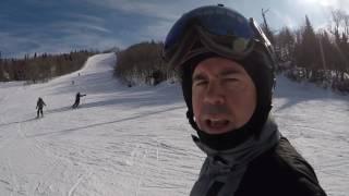 Ski VLOG à Mont Tremblant - 18 février 2017 - GoPro