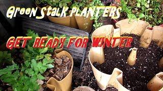 GROW FOOD ALL WINTER LONG!!!Green Stalk Planter Prepping
