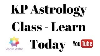 KP Astrology Class - Learn Astrology