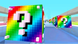Minecraft 1v1 RAINBOW LUCKY BLOCK RACE! (Minecraft 1.8 Mods) w/PrestonPlayz & JeromeASF