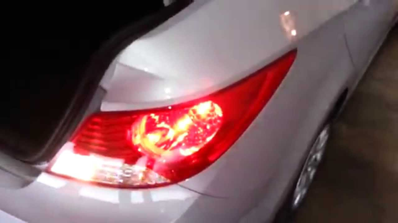how to change brake light hyundai accent