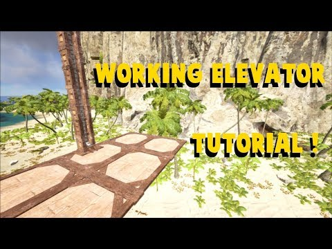 Atlas - How to Make the Perfect Working Elevator !
