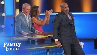 Make yourself COMFORTABLE! | Family Feud