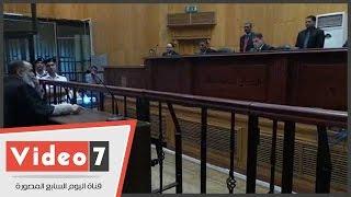 بالفيديو.. تأجيل محاكمة 23 متهما بقضية أنصار الشريعة إلى الغد لحضور دفاع المتهمين