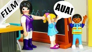 Playmobil Film deutsch   Böse Lehrerin geht zu weit! Kann Hannah sie entlarven?! Kinderserie Familie