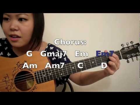"""""""Die In Your Arms"""" - Justin Bieber Guitar Tutorial/Chords (No Capo)"""