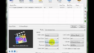 Видео урок по программе Allok Video to MP4 Converter