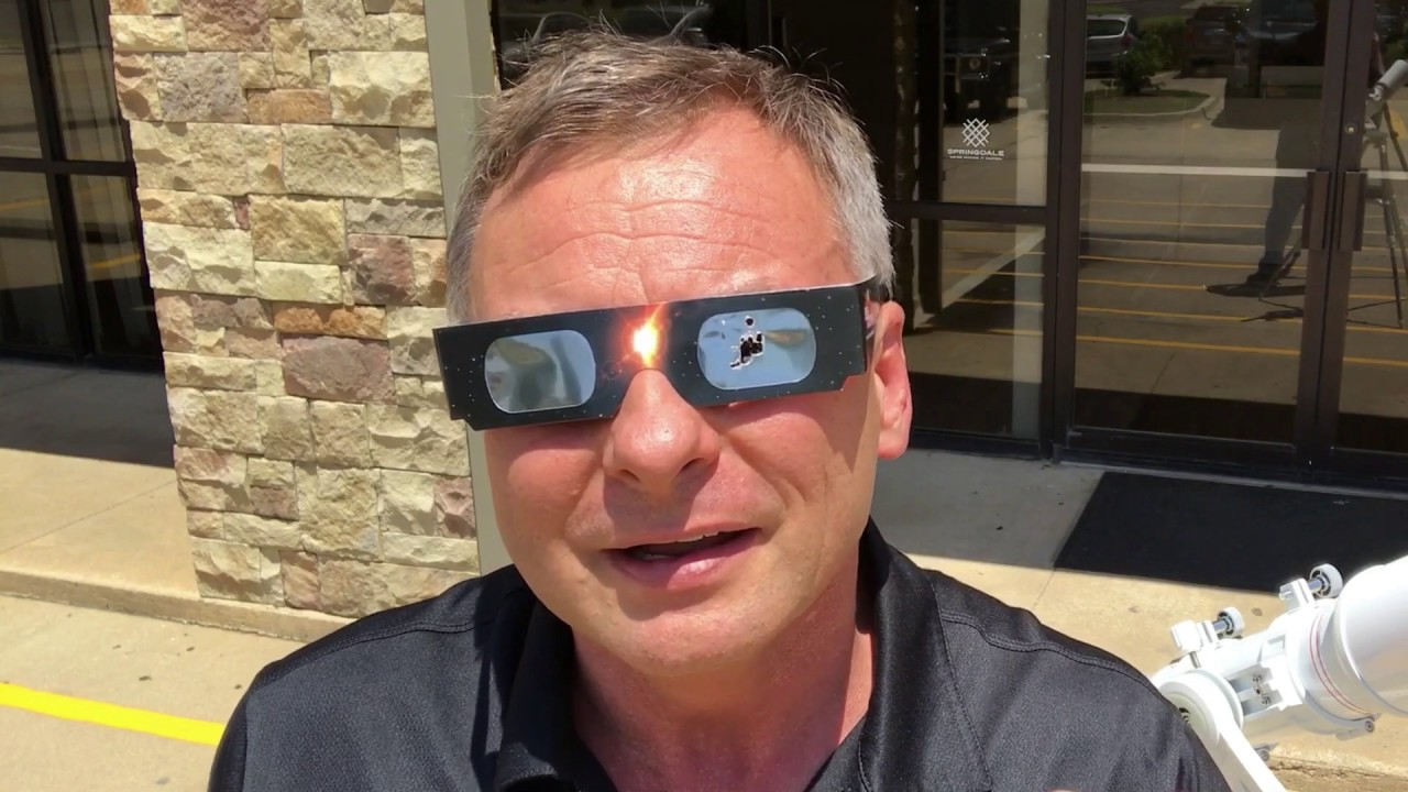 Why you should not use eclipse glasses to look through a telescope