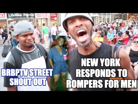 40ec1f24d29 NEW YORK REACTION TO MALE ROMPERS!!!