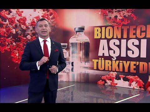 Biontech aşısı Türkiye'ye geldi!