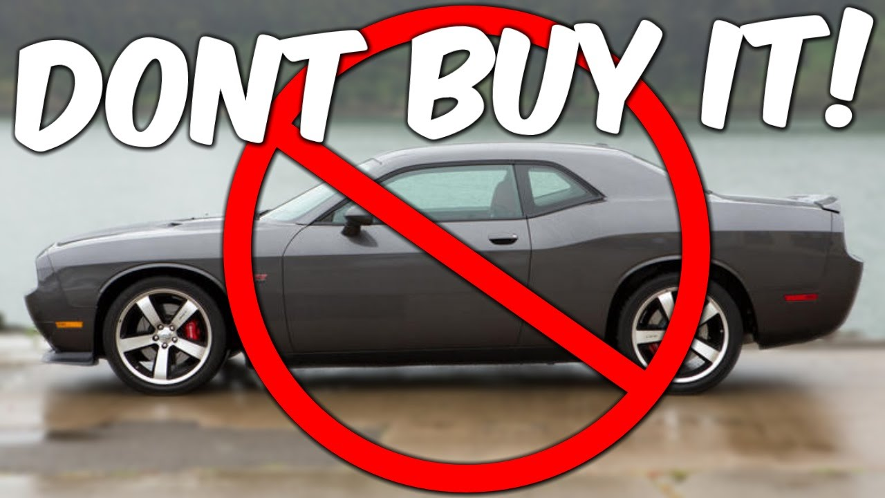 DON\'T BUY A CHALLENGER - YouTube