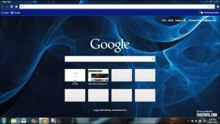 How to get theme for Google Chrome