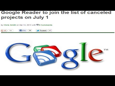 8 Best Google Reader Replacement Apps for Android!