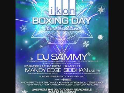 Ikon Live - Boxing Day 2016 Promo - Mixed By Dj Baker