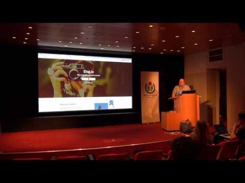 GLAM-WIKI 2015 - 11 April - Elog.io