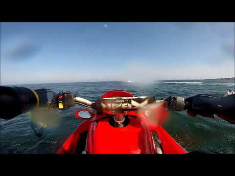 Aberdeen to Cove bay on Jet skis