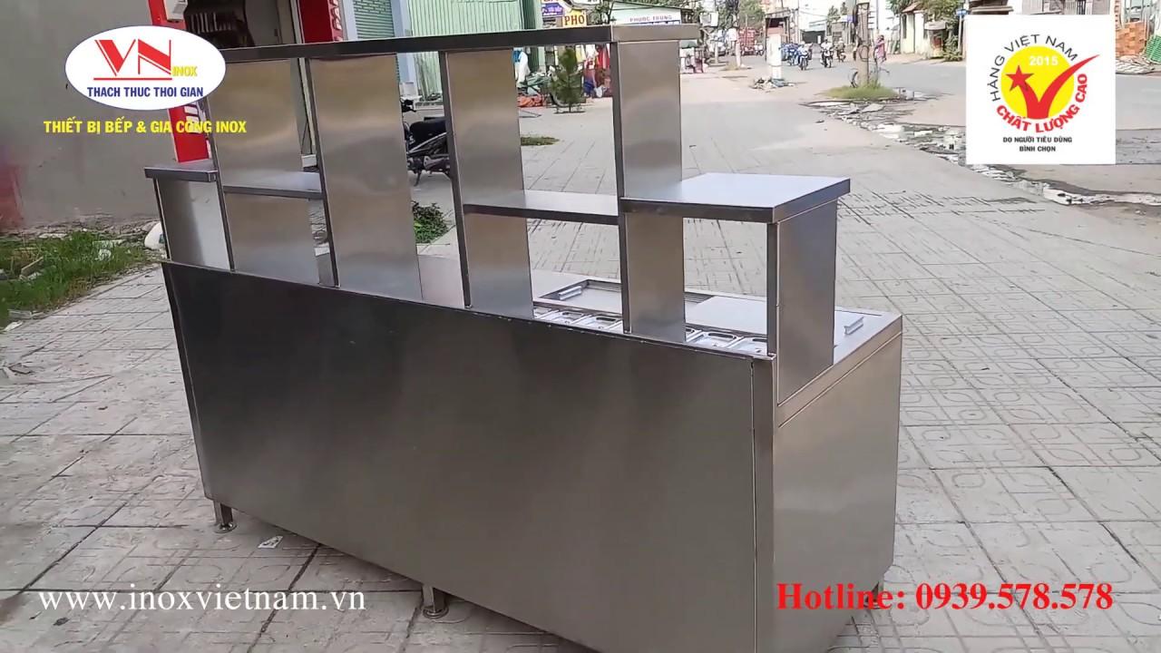 Mẫu Quầy Bar Quán Cafe, Quầy Pha Chế Trà Sữa  Giá Tốt Nhất - YouTube