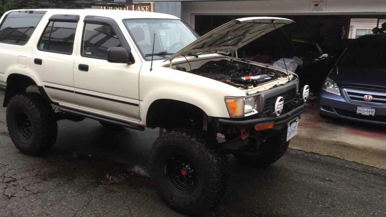 91 Toyota 4runner Sas Youtube